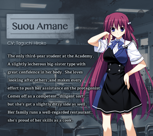 Sou Amane The Fruit of Grisaia