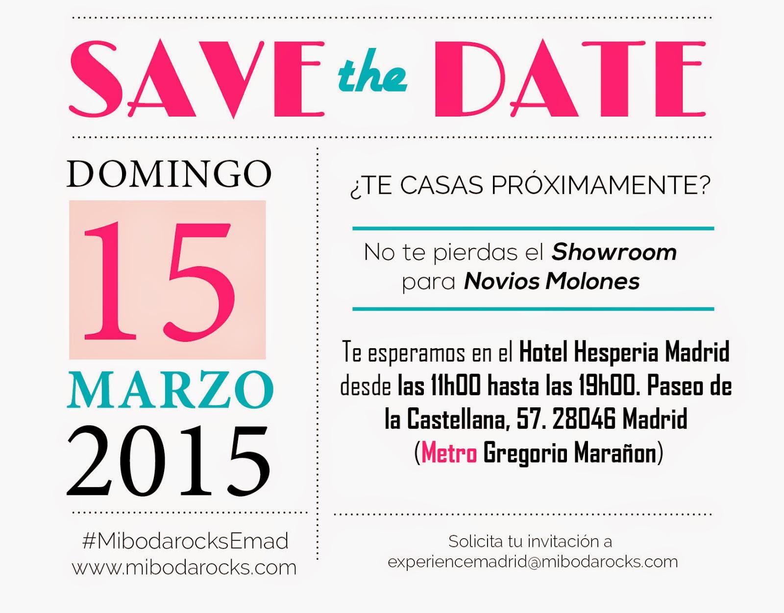hotel hesperia 5* mi boda rocks experience madrid 15 de marzo 2015
