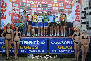 Lotto Cycling Cup, bikini models, cycling race