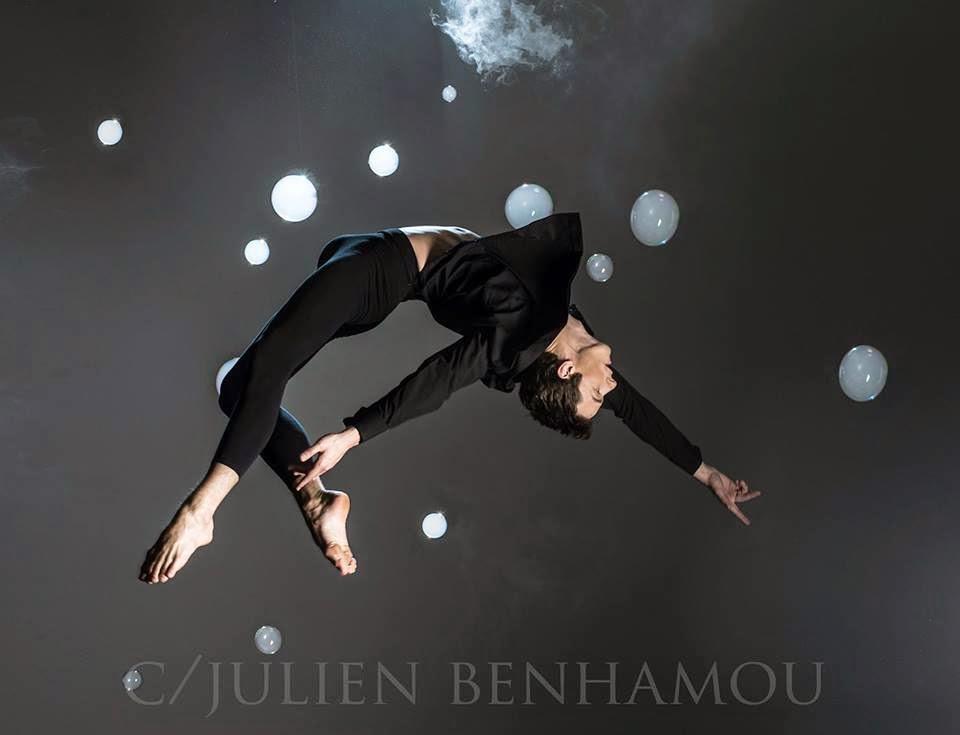 Julien BENHAMOU, sublime le corps du danseur