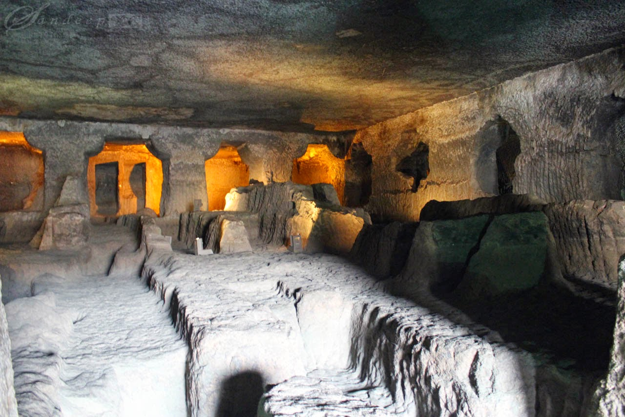 Uncompleted cave 24