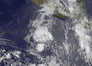 System 90E bildet sich vor Mexiko, Aletta, 2012, Hurrikansaison 2012, Pazifische Hurrikansaison, Nordost-Pazifik, Mexiko, Mai, Satellitenbild Satellitenbilder, Nayarit, Sinaloa