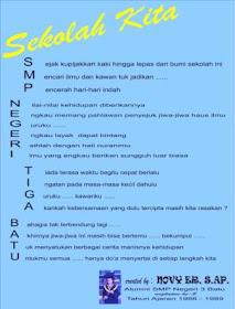 Puisi Sekolah Karya Alumni