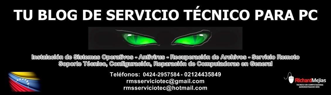 Tu Blog de Servicio Tecnico Para Pc en Caracas, Venezuela