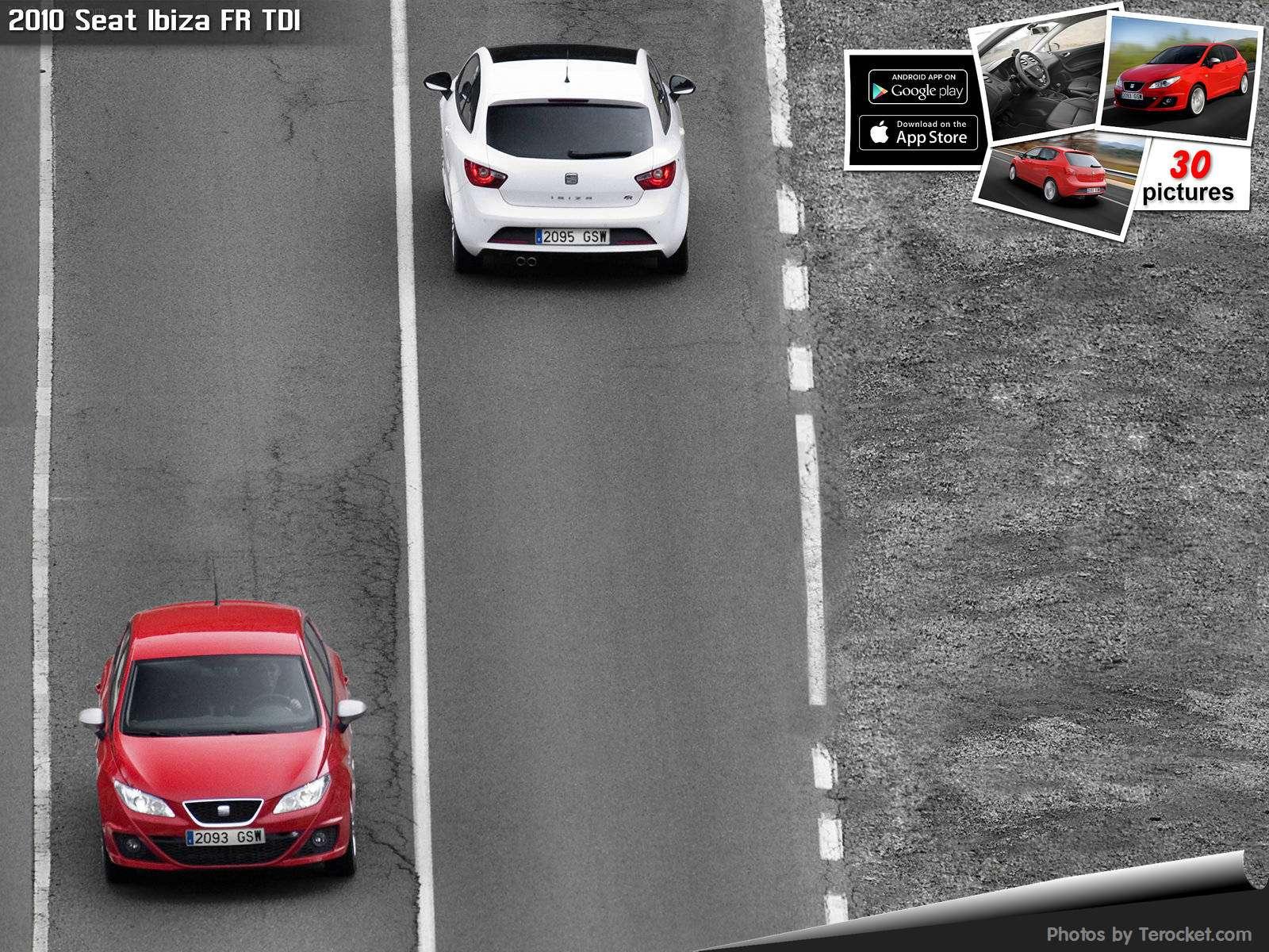 Hình ảnh xe ô tô Seat Ibiza FR TDI 2010 & nội ngoại thất
