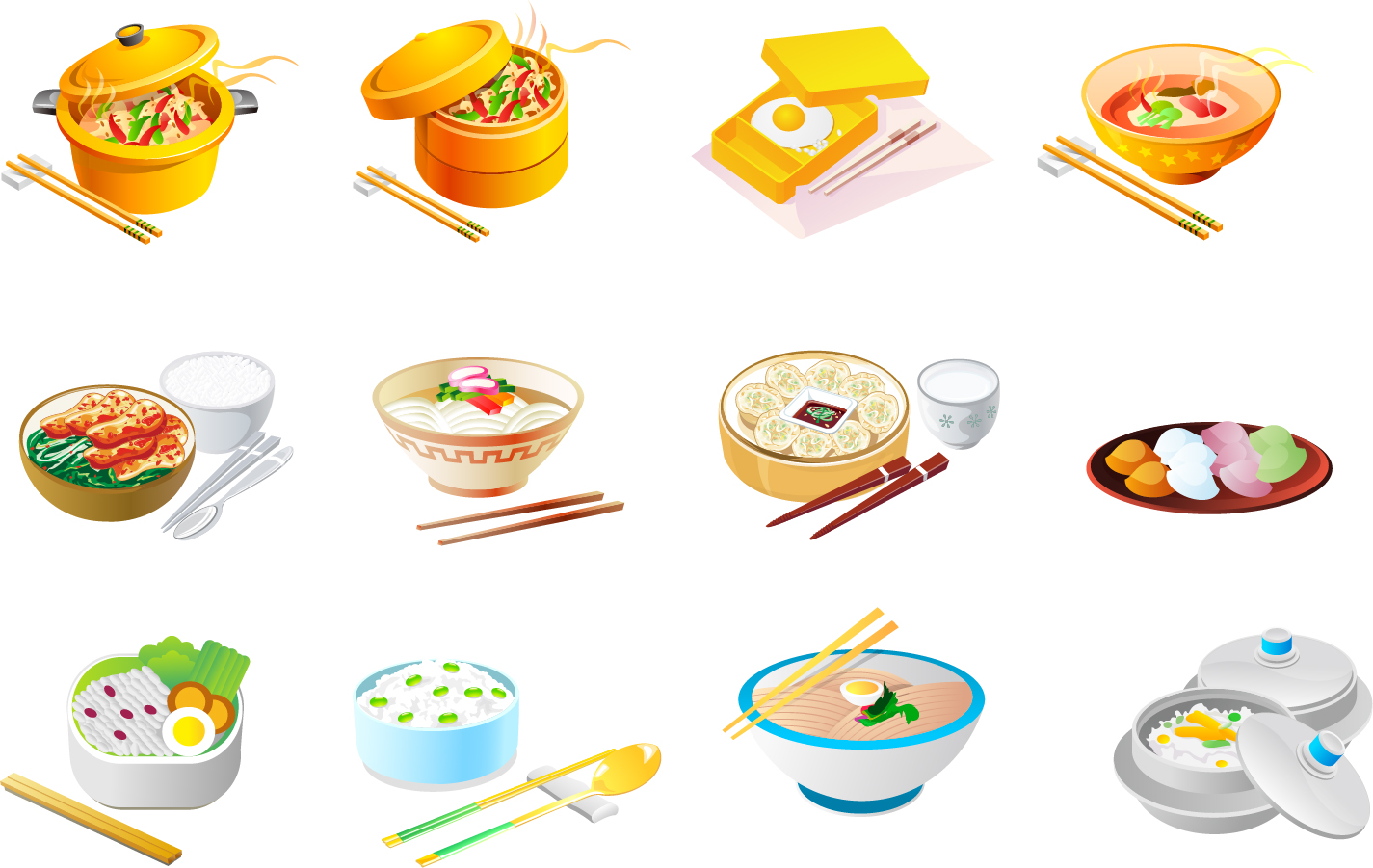 Chinese food icon for 8 chinese cuisine