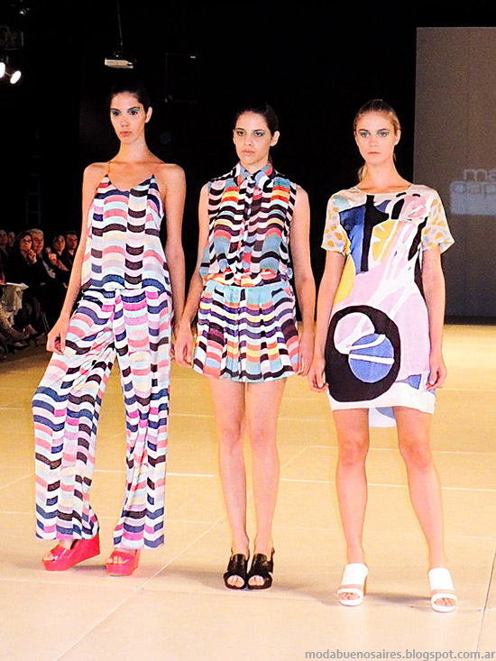 Mariana Dappiano primavera verano 2015. Moda Argentina primavera verano 2015.