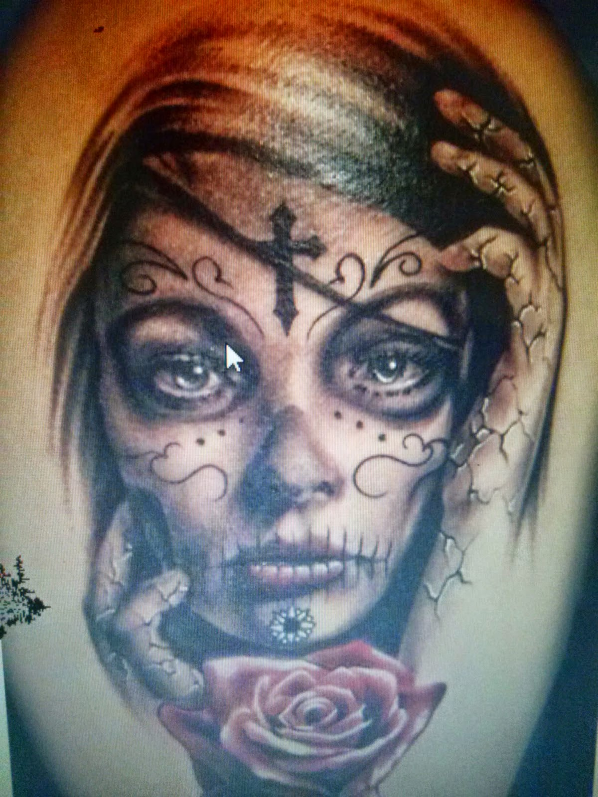 Amazing Catrina Tattoos