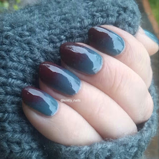 OPI Skyfall and Jacava Shawfield Street