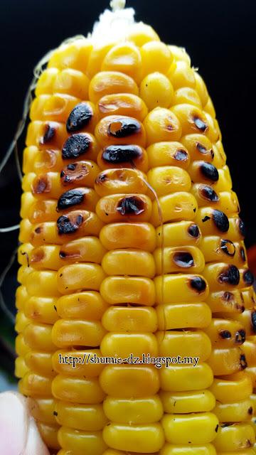Kalau ke Kota Marudu jangan lupa beli jagung bakar