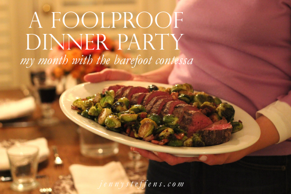 jenny steffens hobick: a barefoot contessa dinner party | last