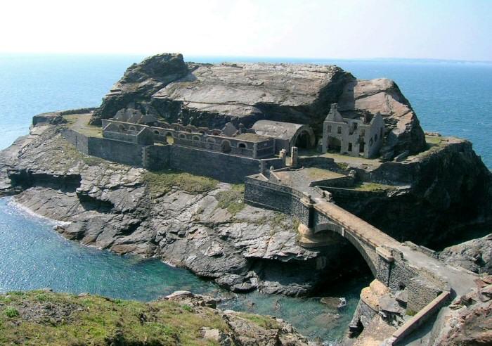 Le fort des Capucins à Roscanvel