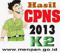 Hasil CPNS Honorer K2 2013