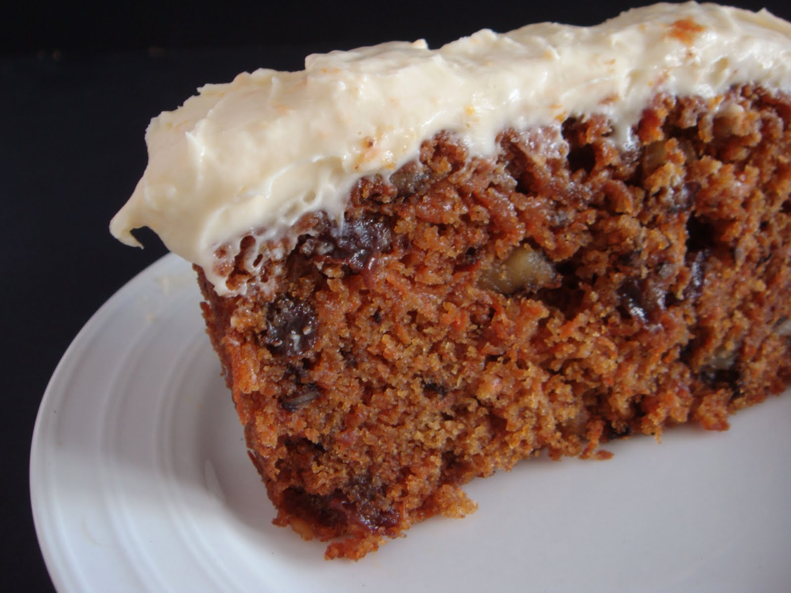 Baking Library: Carrot Cake with Orange Cream Cheese Frosting