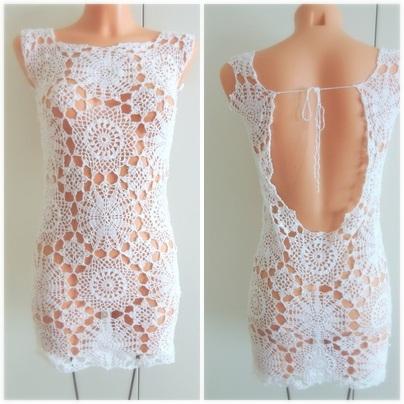 virkad klänning mönster gratis