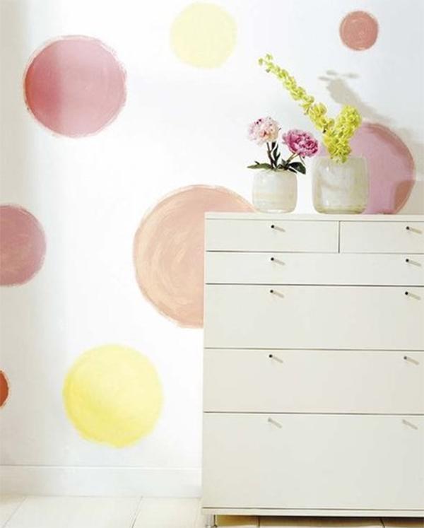 paint wall circle | pintura paredes circulos homepersonalshopper inspiraciones
