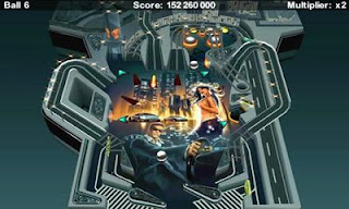 Screenshots of the Pinball Ride for Android tablet, phone.