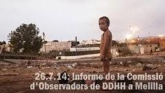 26.7.14: Presentació de l'Informe de la Comissió d'Observadors de DDHH a Melilla