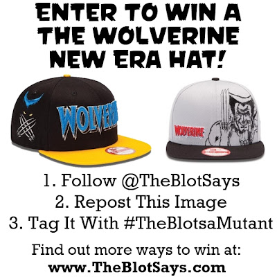 New Era x TheBlotSays.com The Wolverine Hat Giveaway Instagram Photo