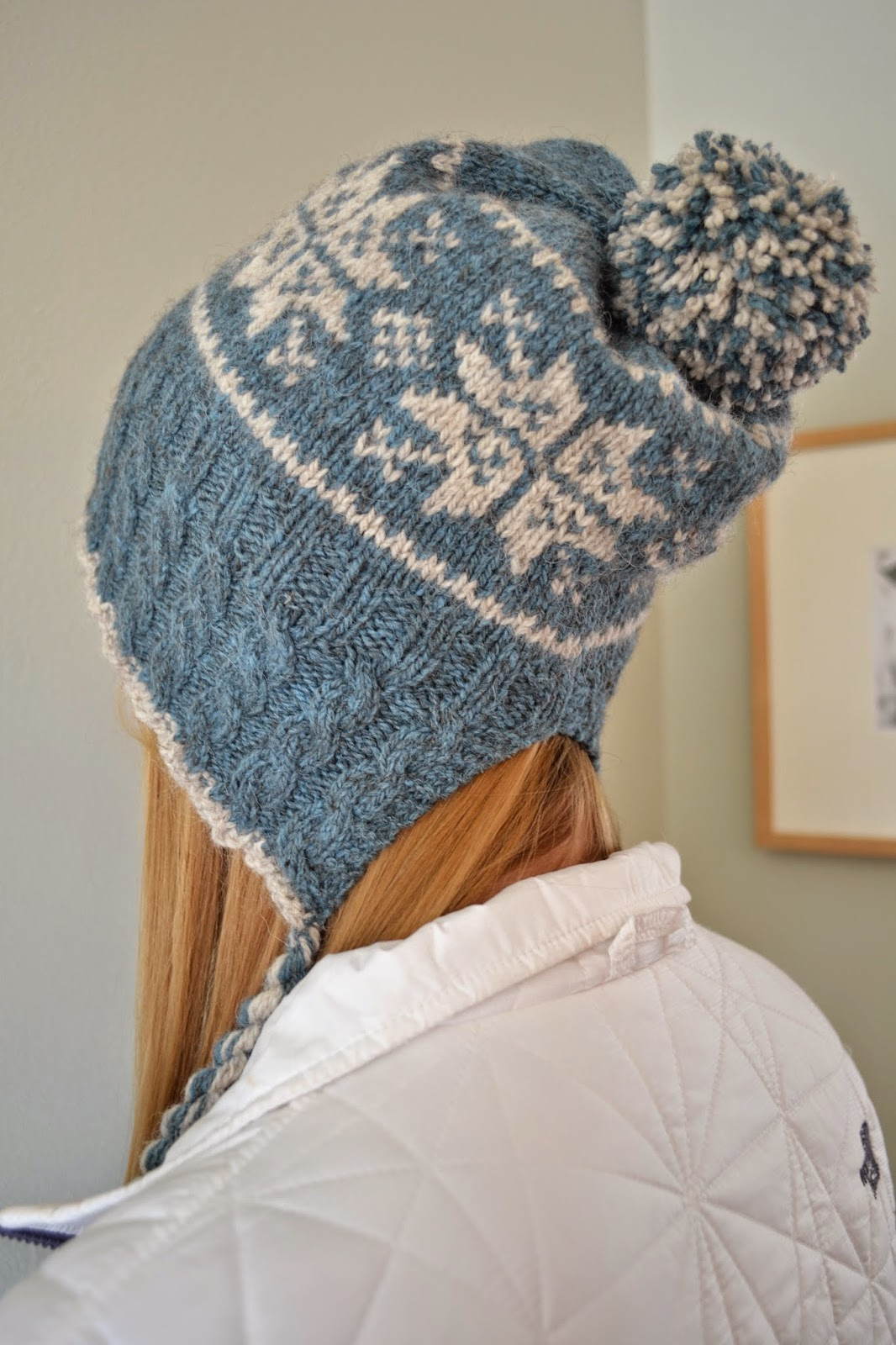 Susan B. Anderson: Split Back Snowflake Hat, plus a traditional ...