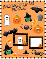 Halloween Clip Art Graphics Commercial Use