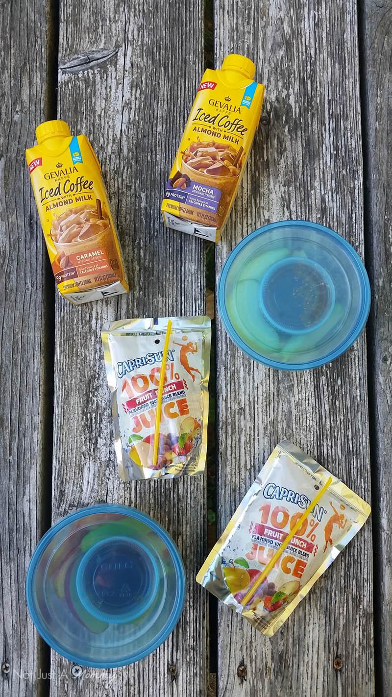 5 Road Trip Snack Hacks; drink ideas