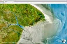 Las mejores fotos de satélite en una extensión de Chrome: Earth View from Google Maps