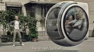 El auto flotante
