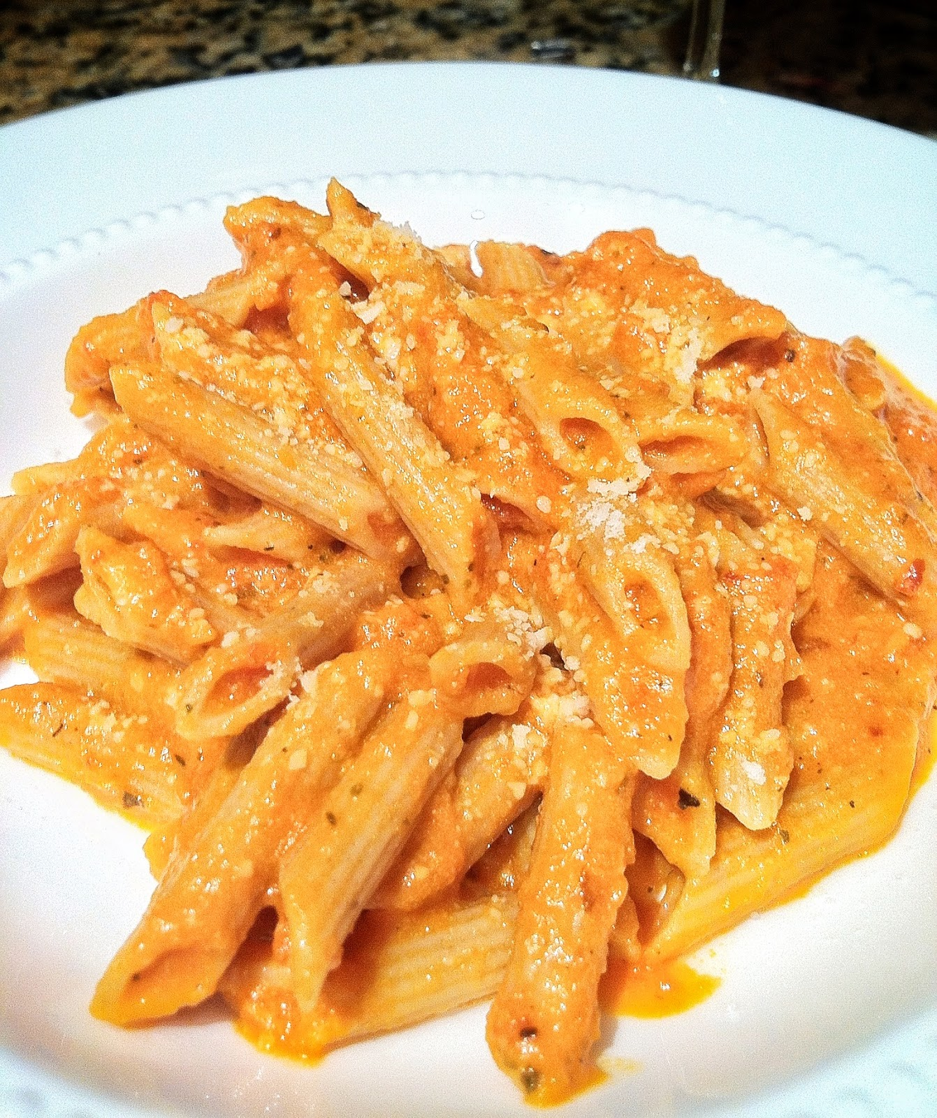 Penne A La Vodka + Belgian Brownies Recipes — Dishmaps