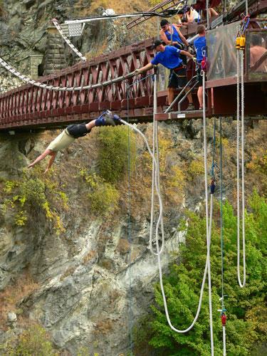Bungee Jumping Saut a elastique saut de pont en Rhone ...