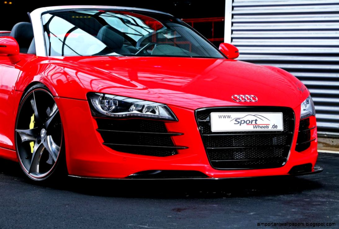 Cars Background Red Audi Car Important Wallpapers