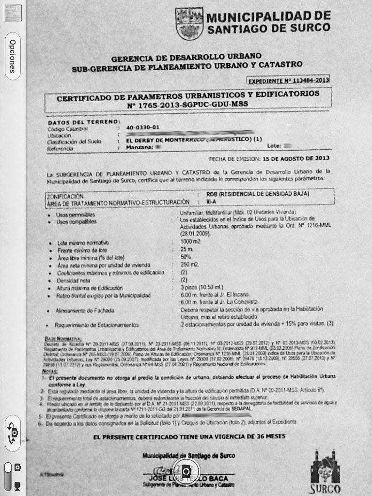Inmobiliaria lima per documentos para vender una casa y otras consideraciones para hacerlo - Ejemplo certificado energetico piso ...