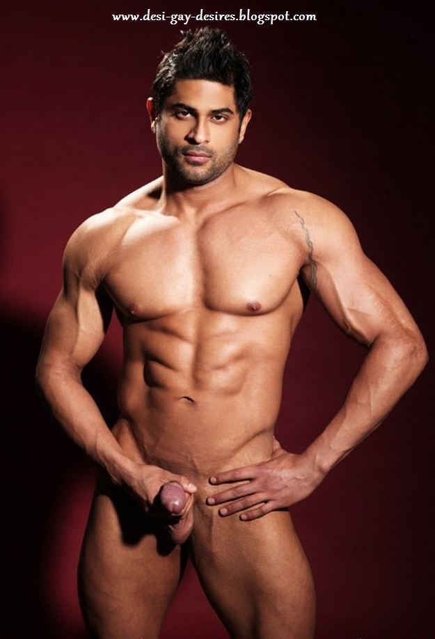 male Nude model desi