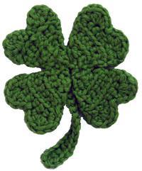 Free Crochet Pattern For 3 Leaf Clover : Grandmas Crochet Cottage: What can we crochet for St ...