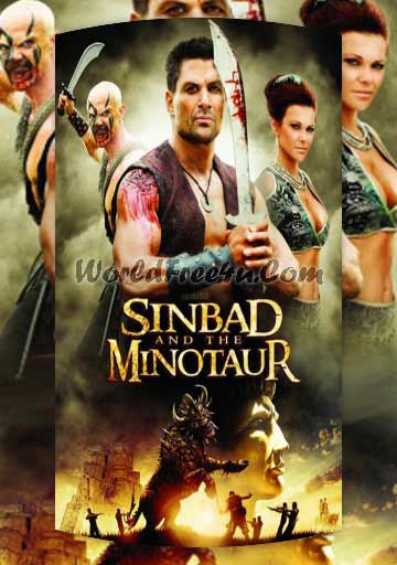 Poster Of Sinbad and the Minotaur (2011) Full Movie Hindi Dubbed Free Download Watch Online At worldfree4u.com