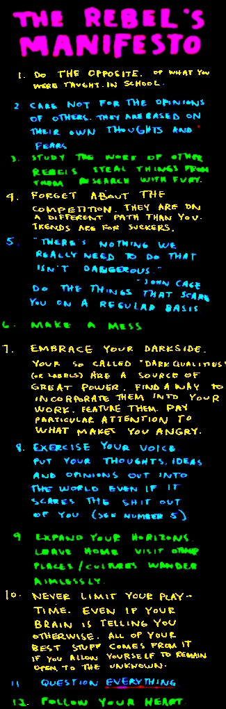 THE Manifesto!