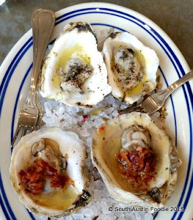 Liberty Kitchen roasted oysters