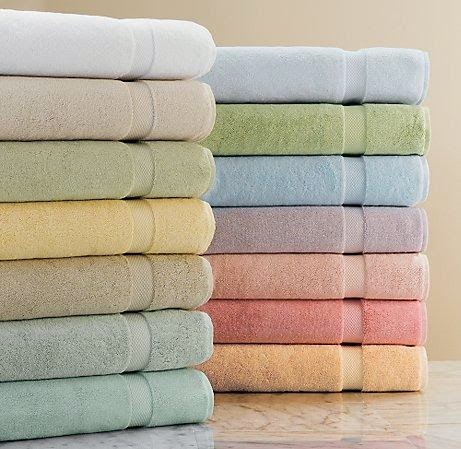 harmoniser linge bain serviette