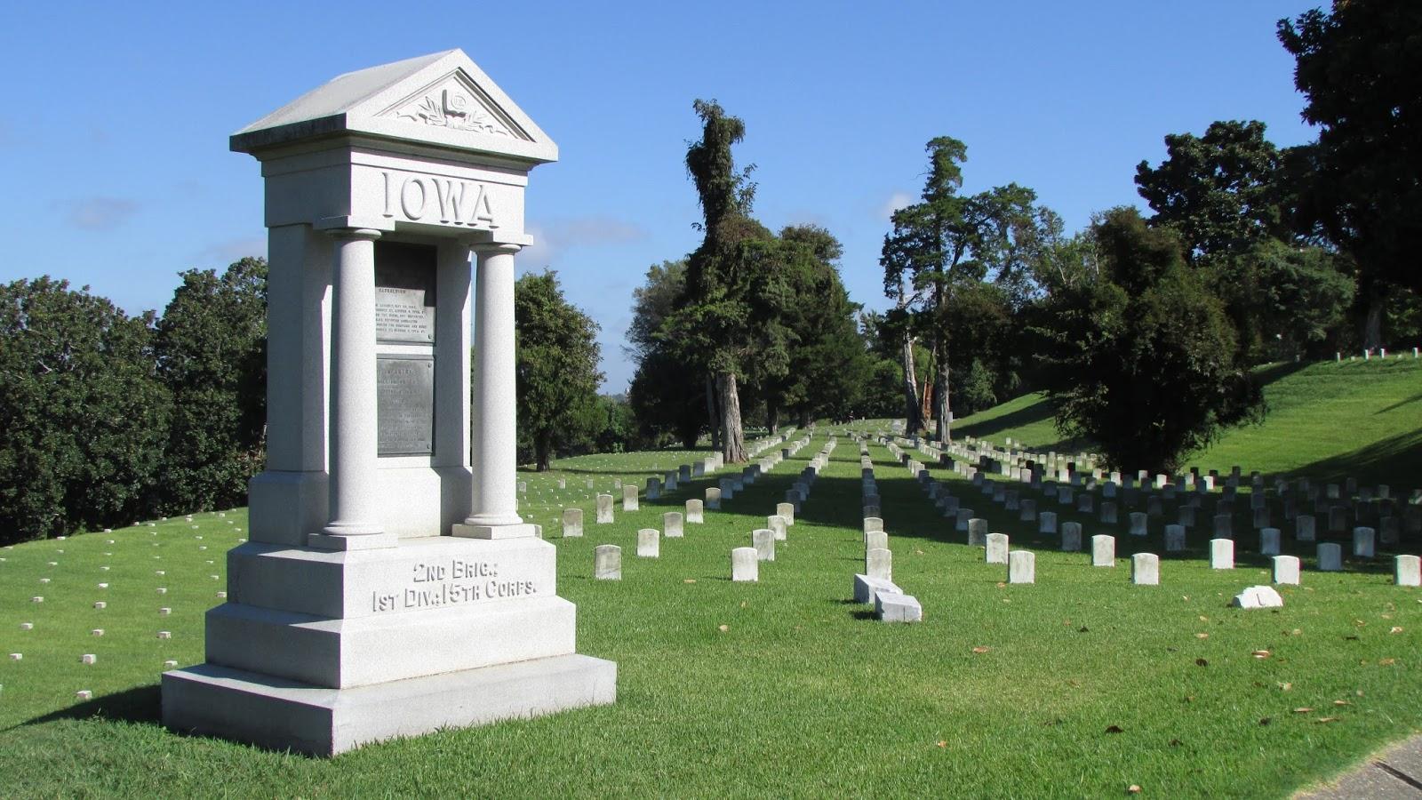 Battlefield Wanderings 2.0: Vicksburg national cemetery