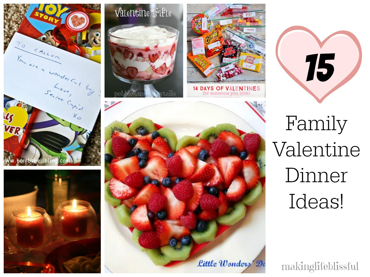 valentine dinner ideas for families making life blissful - Easy Valentine Dinner Recipes