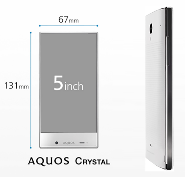 Beauty blogger Indonesia Raden Ayu sharp aquos crystal smartphone