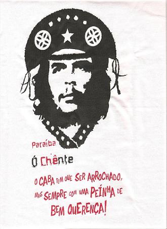 """Vertido para o matutês do original: """"Hay que endurecerse, pero sin perder la ternura jamás"""" Guevara"""