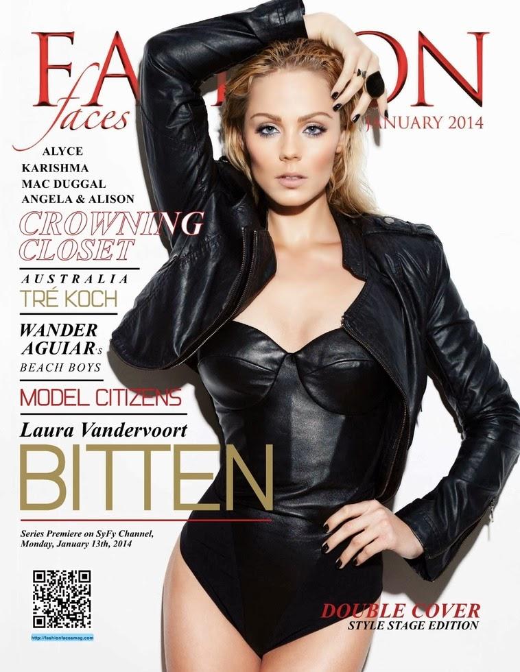 Magazine Photoshoot : Laura Vandervoort Photoshot For Fashion Faces Magazine Australia January 2014 Issue