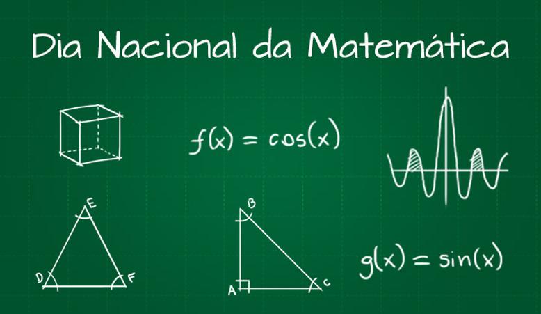 06 de Maio – Dia Nacional da Matemática