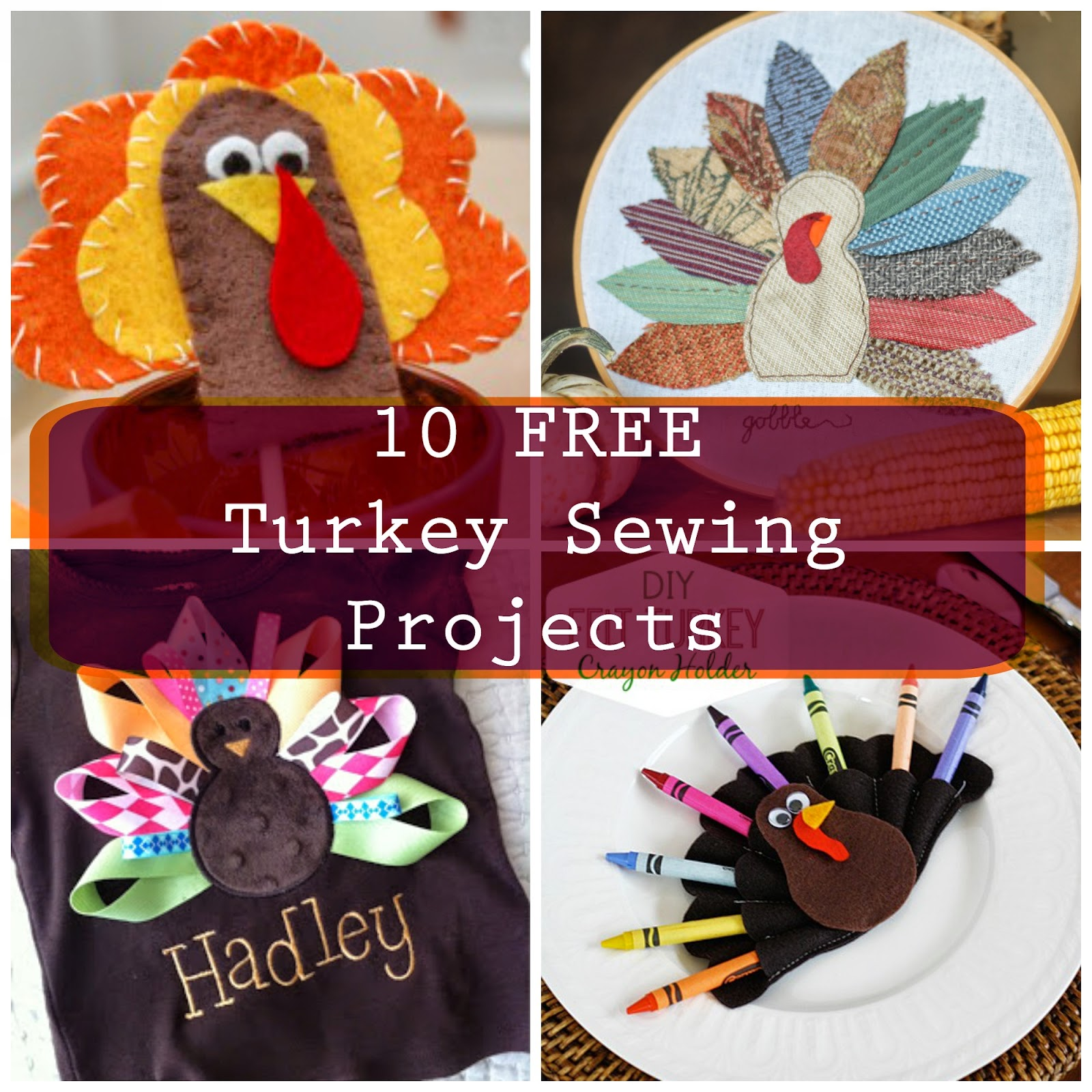 Tales of a crafty mommy gobble sew turkey
