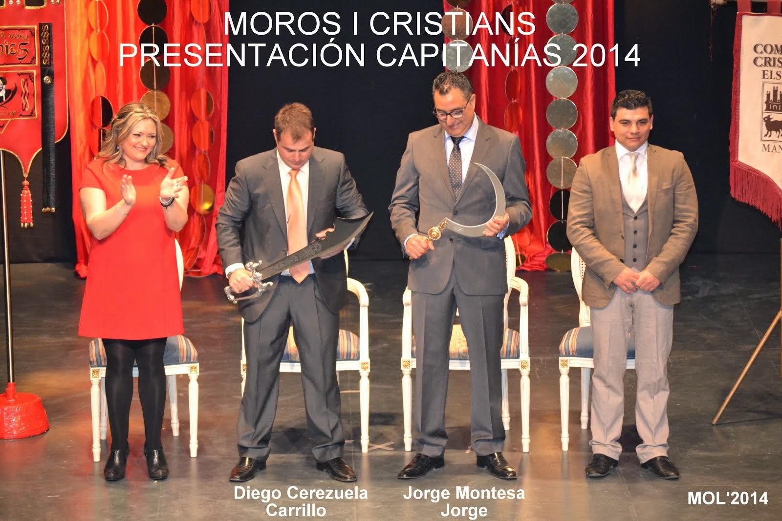 ACTO DE PRESENTACIÓN DE LA CAPITANÍA MORA Y CRISTIANA PARA ESTE AÑO 2014