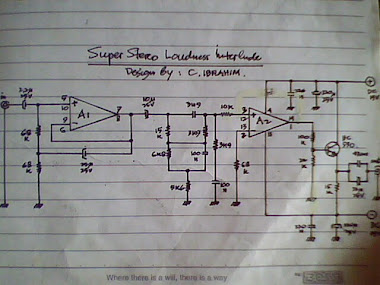 Rangkaian Super Stereo Loudness Interlude