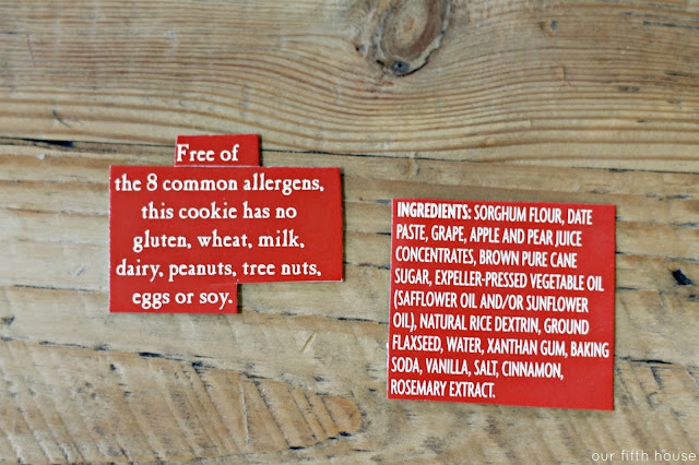 Allergy Free Cookie Treat Bag Tags
