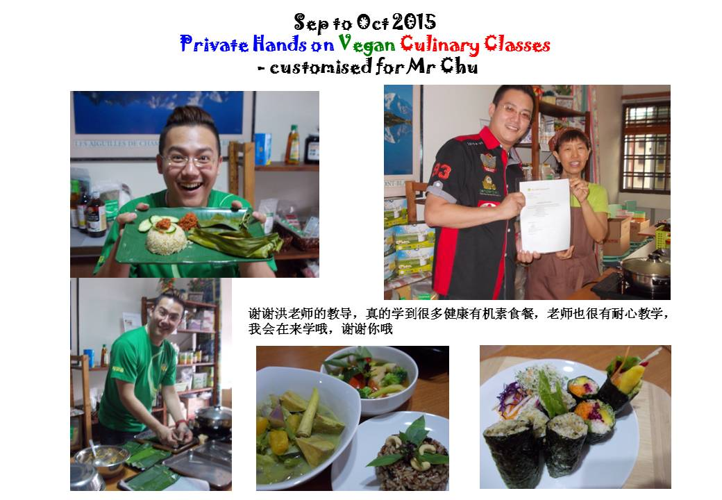 Private Hands on Vegan Culinary Class