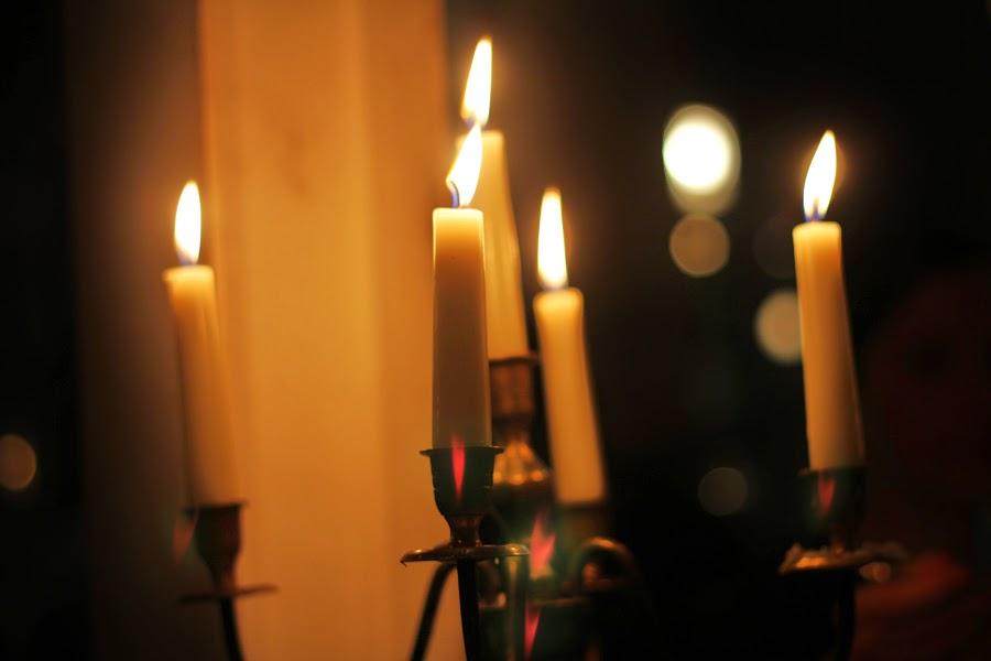 candles dinner london restaurant
